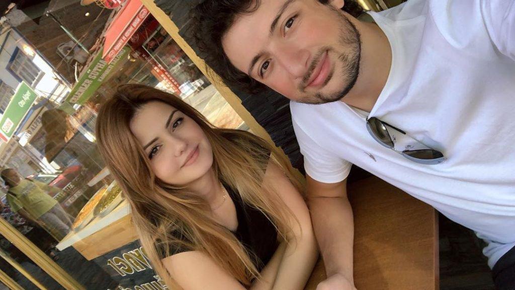 Sunay Sagut ve Sevgilisi Mervan Tepelioğlu