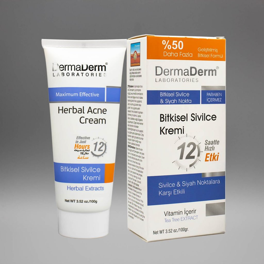 DermaDerm Bitkisel Sivilce Kremi