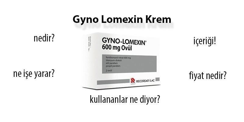 Gyno Lomexin Krem