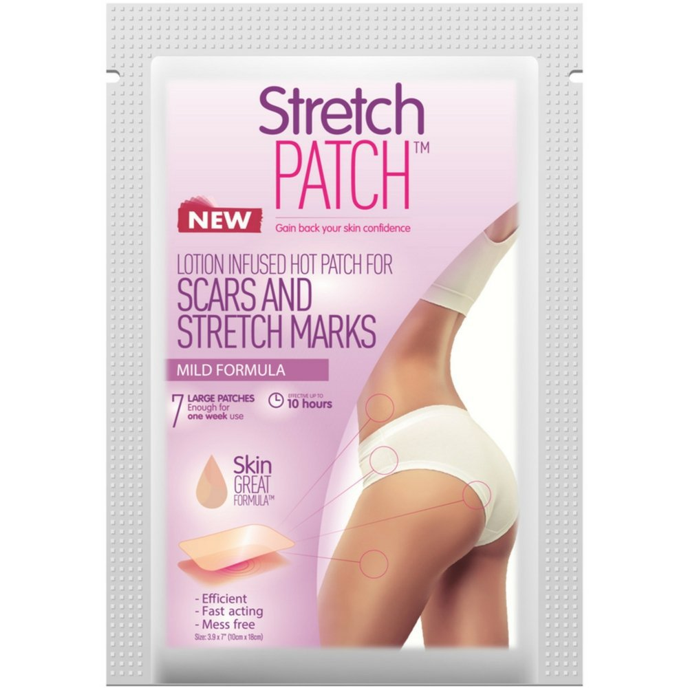 StretchPatch Lotion Infused Hot Patch