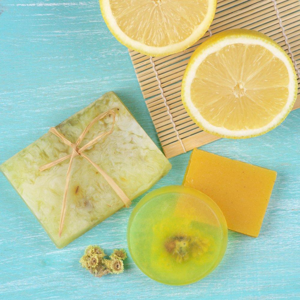 Limonlu Gliserinli Sabun