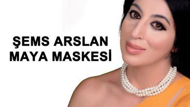 Şems Arslan Maya Maskesi