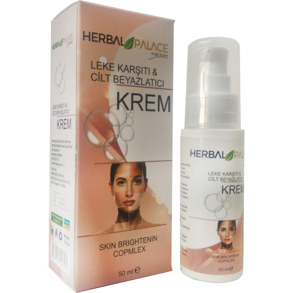 Herbal Palace Leke Karşıtı& Cilt Beyazlatıcı Krem