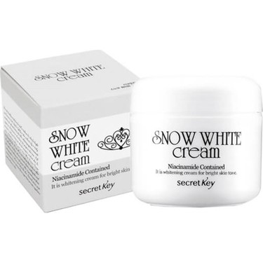 Secret Key Snow White Cream - Cilt Beyazlatıcı Krem