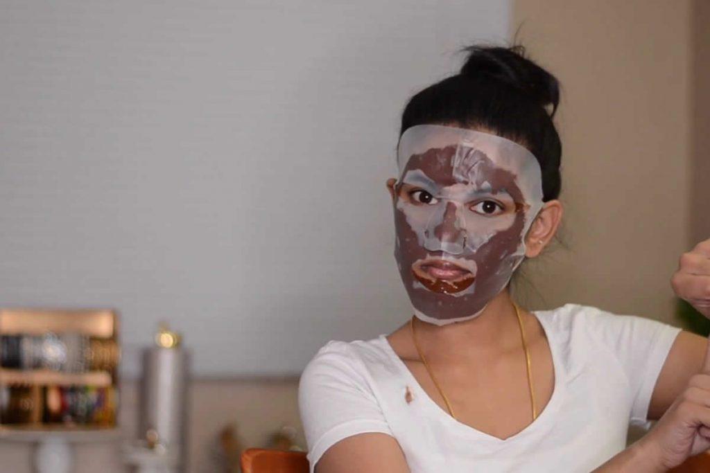 cilt tonu eşitleme maskesi