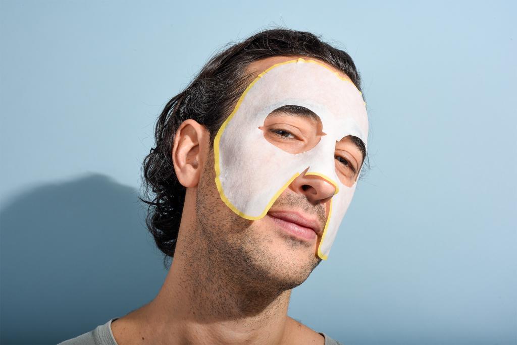 Erkek Yüz Maskesi Nasıl Yapılır