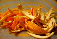 Portakal Kabuğu Maskesi