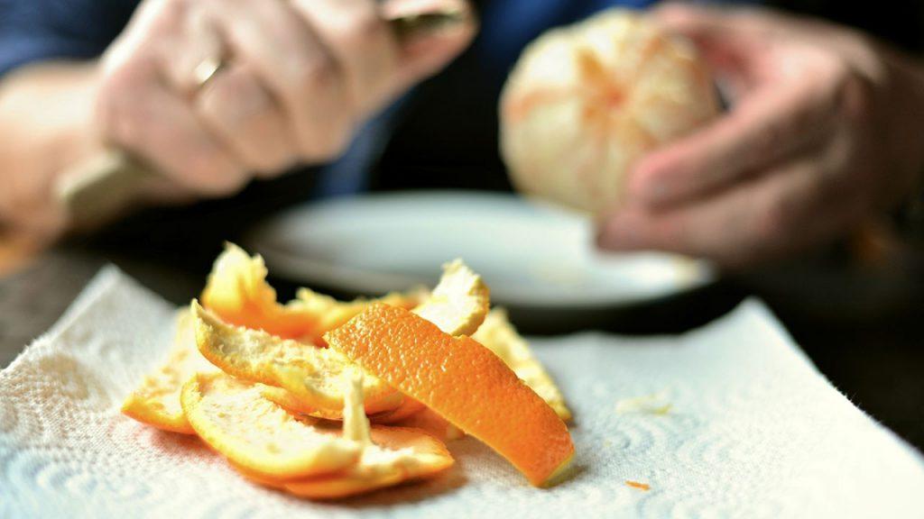 Portakal Kabuğu ile Cilt Bakımı