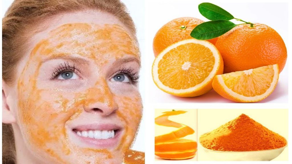 Portakal Kabuğu Yüz Maskesi