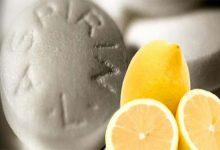 Selülit Geçiren Aspirin Limon Suyu Kürü