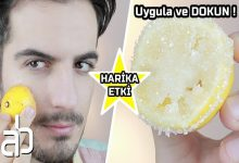 Aras Barlas Yarım Limonu Şekere Batırın ve Cildiniz Kusursuz Olsun