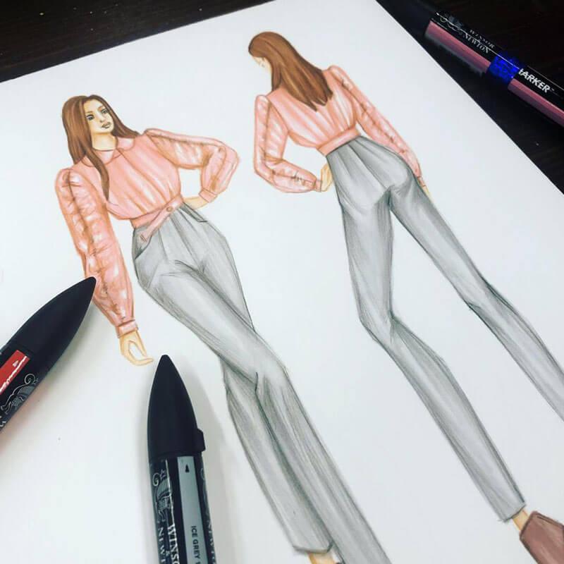 Moda tasarıma başlama