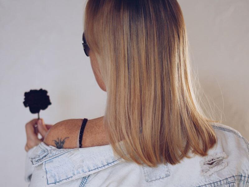 Yarı Balyajlı Saç Modeli