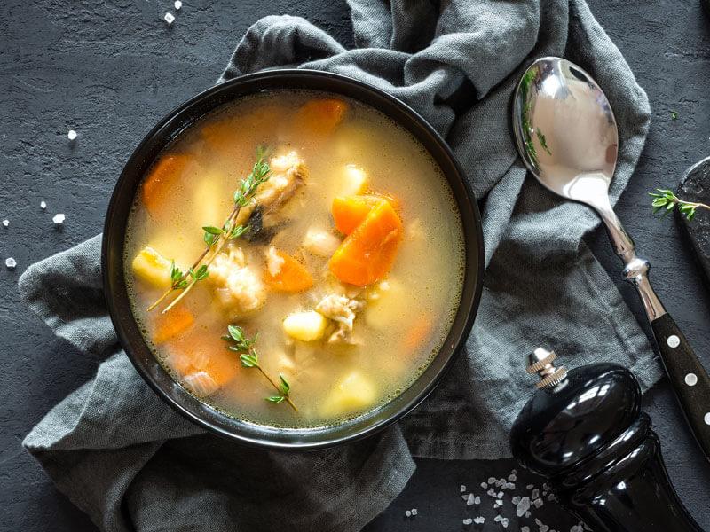 Balık Çorbası Tarifi İçin Malzemeler