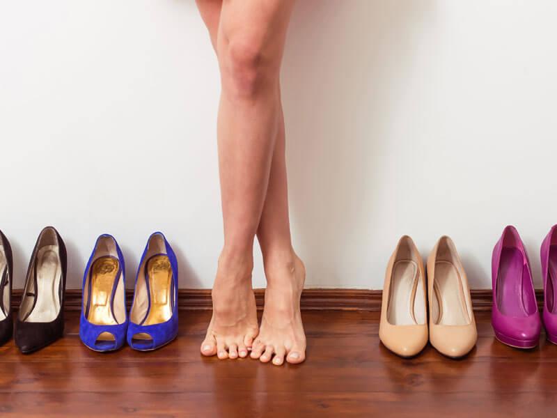 Canlı Renkli Ayakkabılar