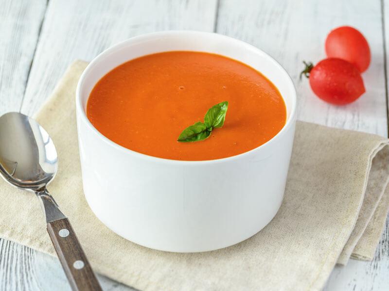 Domates Çorbası İçin Malzemeler