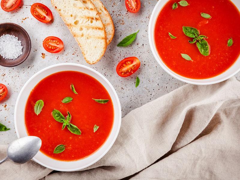 Domates Çorbası Yapımı