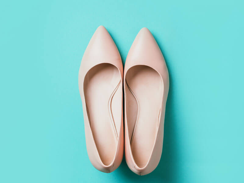 Nude Tonlarda Ayakkabı