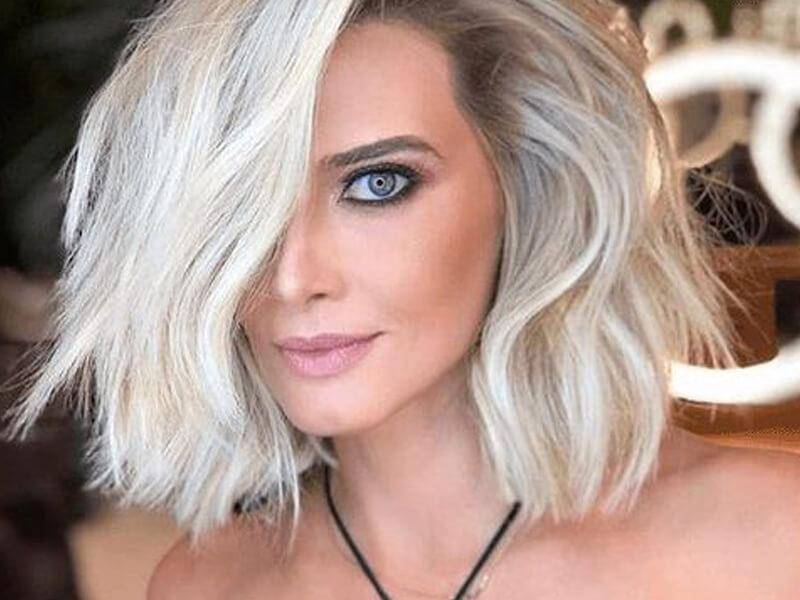 Platin Saç Rengine Nasıl Bakım Yapılır