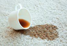 Beyaz Halıdan Çay Lekesi Nasıl Çıkar