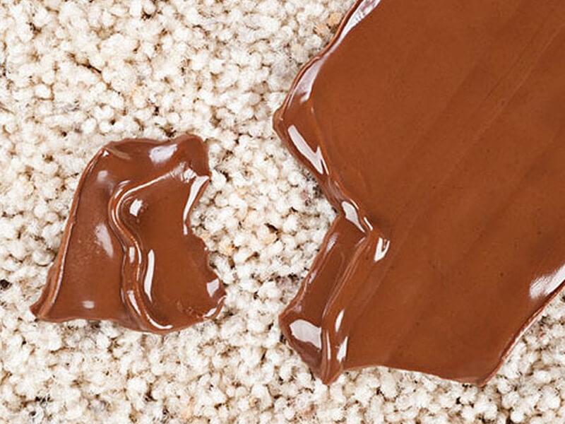Halıdan Çikolata Lekesi Çıkarma