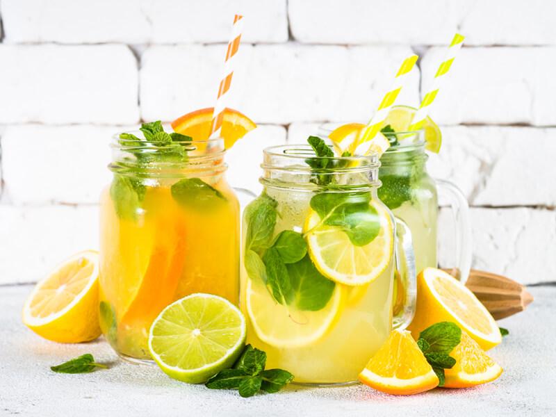 Limonata Tarifi İçin Malzemeler