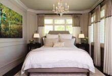 Dar Dikdörtgen Yatak Odası Dekorasyonu
