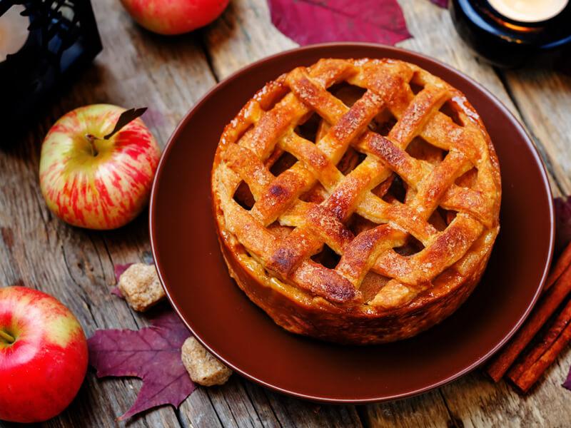 Elmalı Turta Tarifi İçin Malzemeler