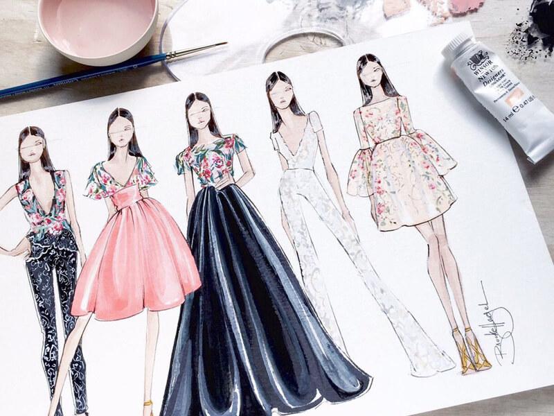 Stilistlik ve Moda Tasarım Çizimleri