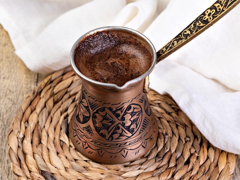 Türk Kahvesi Tarifi İçin Malzemeler