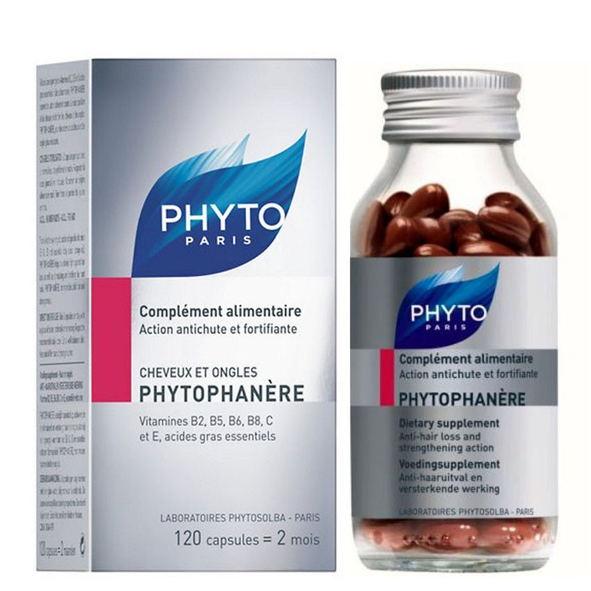 PHYTO Phytophanère 100% Natural Hair Loss Thinning Dietary Supplement