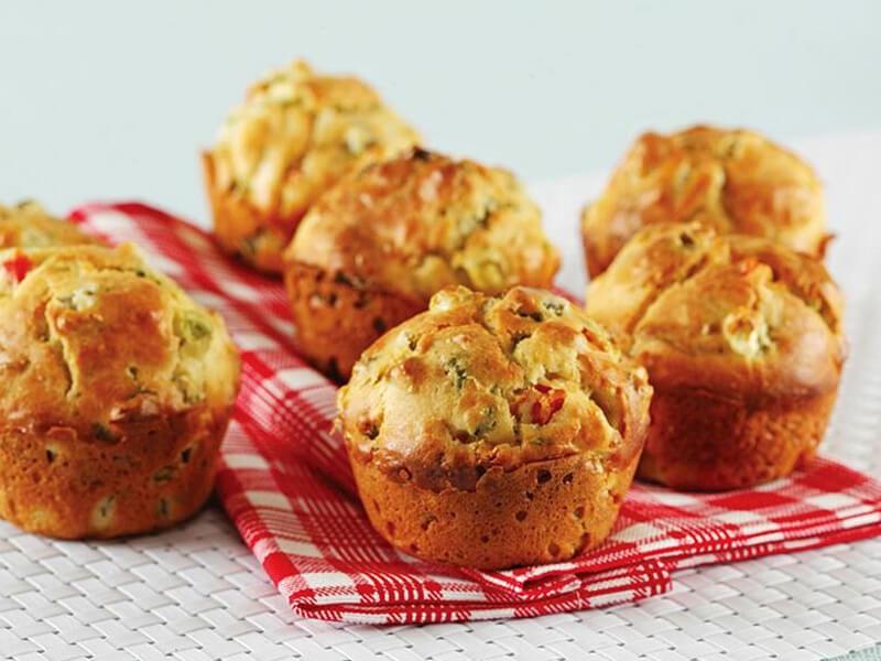Bezelyeli Muffin Tarifi