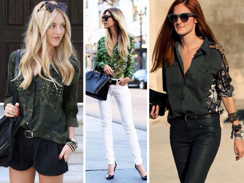 Kadın Yeşil Gömlek Kombinleri Yapma İpuçları