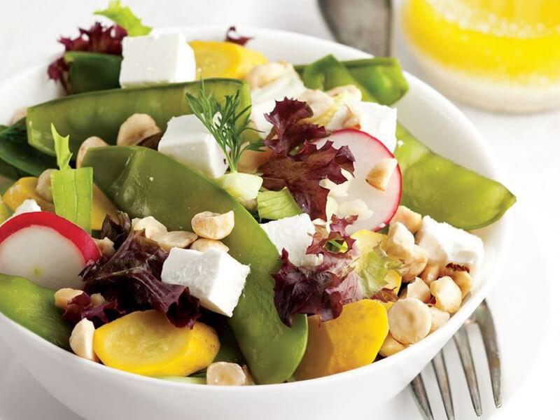 Sultani Bezelyeli Patates Salatası Tarifi