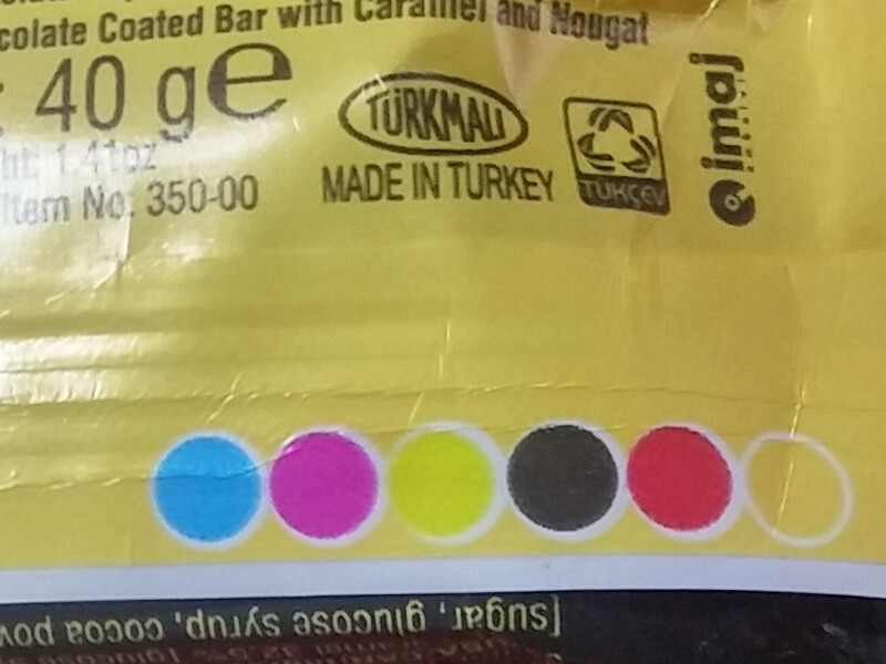 Ürün ambalajları üzerindeki farklı renkler aslında nedir?