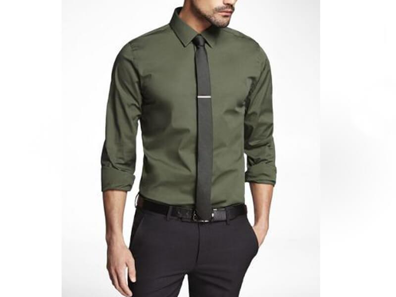 Yeşil Gömlek Erkek Kombinleri