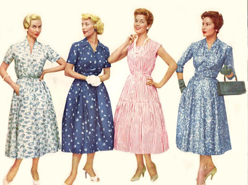 1950 Yılların Modası
