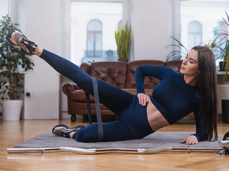 Bacak kaldırma egzersizi