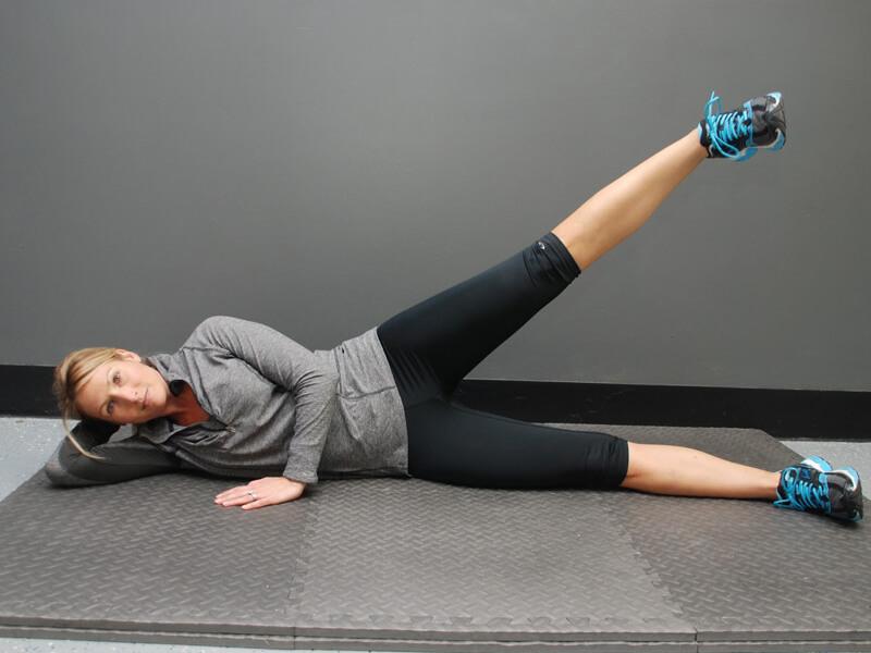 Bacakları Yan Ayırma Egzersizi
