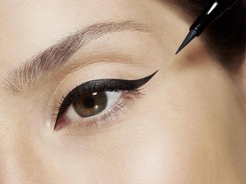 Eyeliner yerine maskara kullanın