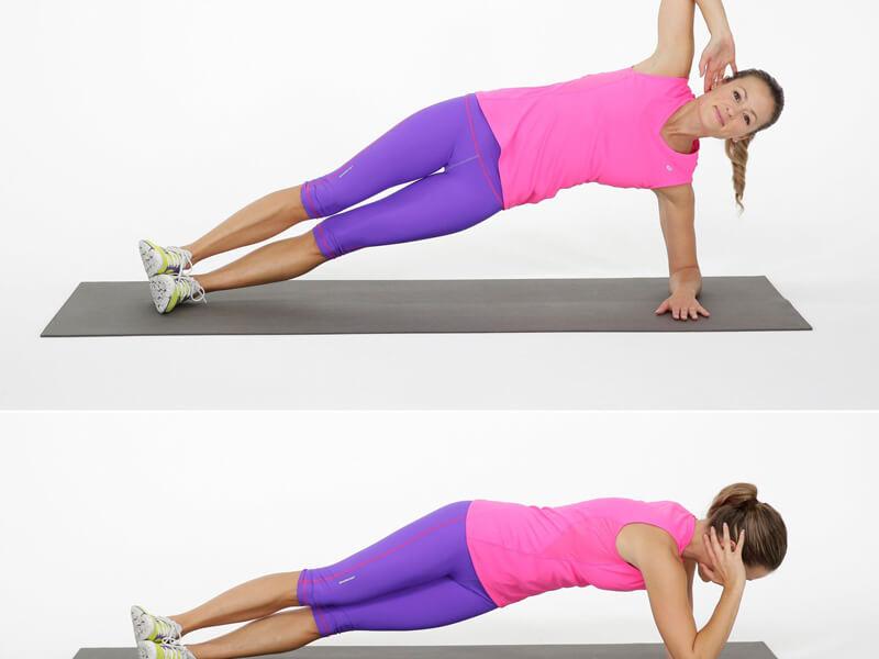 Kaç çeşit plank hareketi vardır?