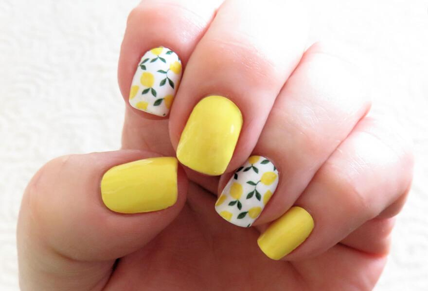 Limonlu Tırnaklar