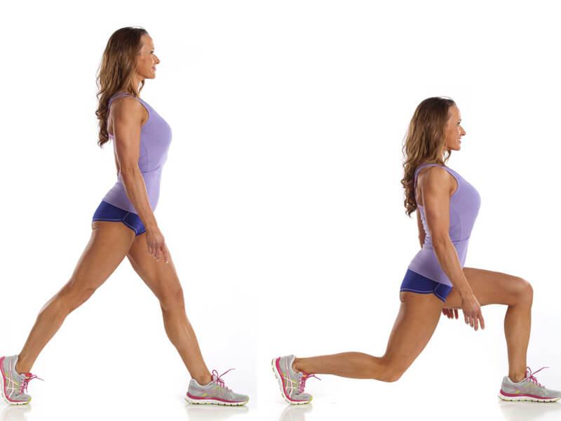 Lunge (adım) Egzersizi