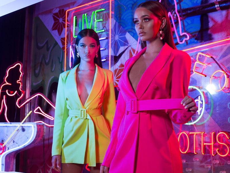 Neon Renkler