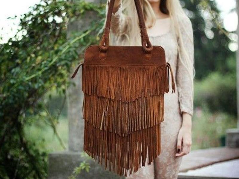 Saçaklı Çantalar