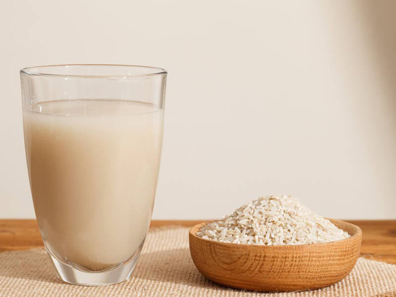 Çin: Yüz durulama olarak pirinç suyu kullanın