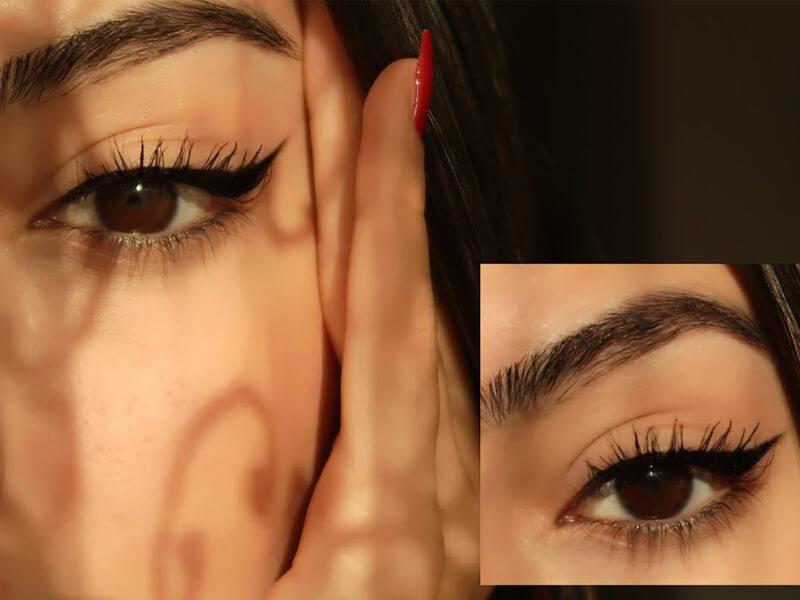 Badem Göz Makyajı Burcu Şenol