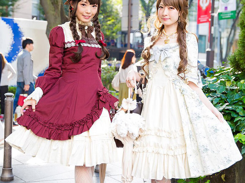 Japonya'dan Lolita Modası