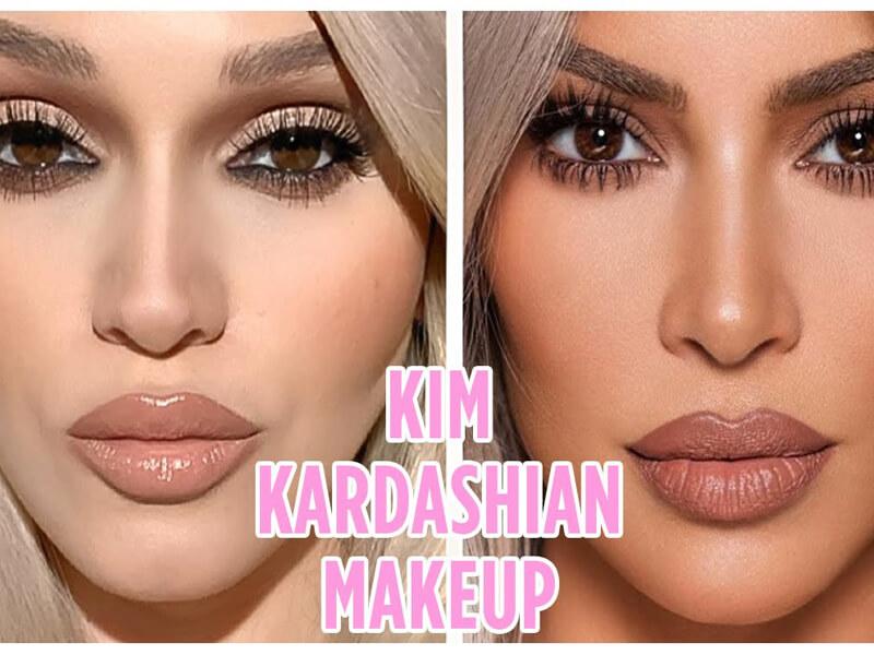 Kim Kardashian Makeup🔥 | İlk İngilizce Videom💃 | Alev Karslı Videosu