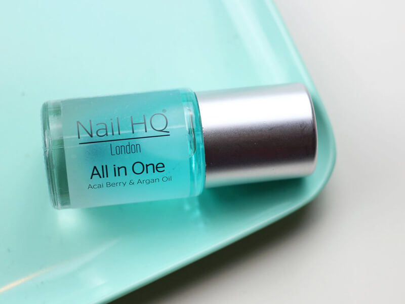 Nail HQ London All in One With Acai Berry & Argan Oil